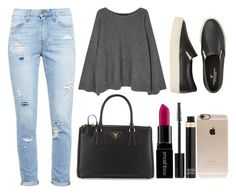 """""""😄💕"""" by elizabeth-0716 ❤ liked on Polyvore featuring The Row, Paige Denim, American Eagle Outfitters, Prada, Smashbox, Tom Ford and Incase"""