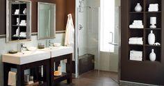 modern flair bathroom