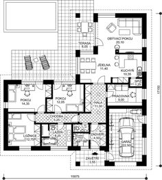 Building Design, Building A House, Feng Shui, Bungalow House Design, My Dream Home, Future House, Planer, House Plans, Layout