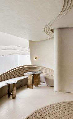Commercial Design, Commercial Interiors, Interior Architecture, Interior And Exterior, Cafe Design, House Design, Co Working, Hospitality Design, Ceiling Design