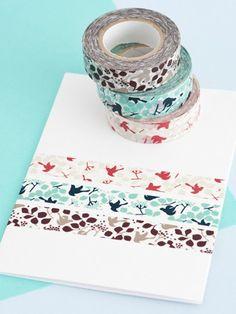 bird washi tape