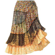 Boho Gypsy Skirt - New Age, Spiritual Gifts, Yoga, Wicca, Gothic, Reiki, Celtic, Crystal, Tarot at Pyramid Collection