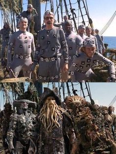 Pirates of the Caribbean: Before and after CGI