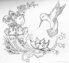 40 Beautiful Flower Drawings and Realistic Color Pencil Drawings | Read full article: http://webneel.com/flower-drawings | more http://webneel.com/daily | Follow us www.pinterest.com/webneel