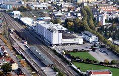 Aerial view - Lörrach - Milkawerk1 - Lörrach – Wikipedia