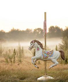 Carousel Horse Backdrop - The Backdrop Store