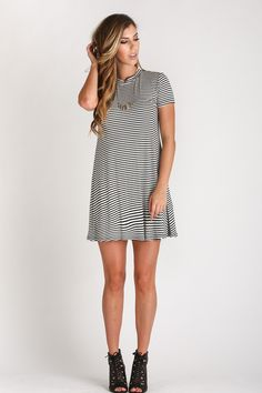 Morning Lavender, day dresses, casual wear outfit ideas, shirt dresses, stripes, fall fashion