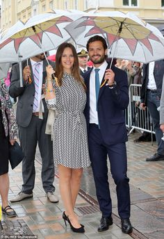 August 27, 2015: Princes Carl Philip and Princess Sofia got a guided tour of Mariebergsskogen, which celebrates its 90th anniversary