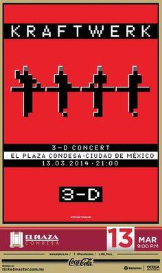 Kraftwerk: Próximo 13 (Agotado) y 14 de Marzo en el Plaza Condesa.
