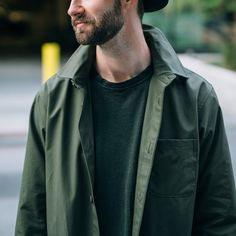 men's green jacket, #mensjacket, #corridor nyc clothing at weathered coalition