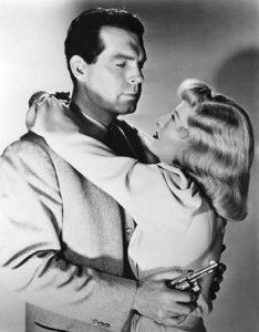Double Indemnity 1944  Barbara Stanwyck and Fred MacMurray