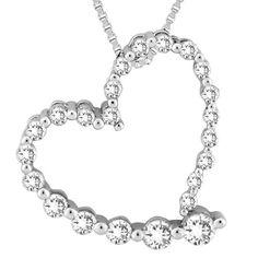 Mesa Jewelers - 1/4 Carat Journey Diamond Pendant on Chain, $525.00 (http://www.mesajewelers.com/1-4-carat-journey-diamond-pendant-on-chain/)