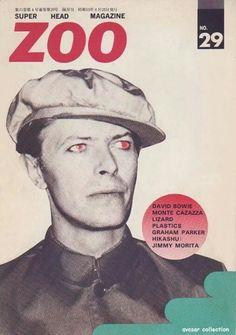 David Bowie covers Zoo magazine #29