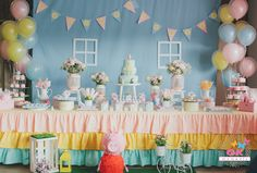 Peppa Pig birthday party themed