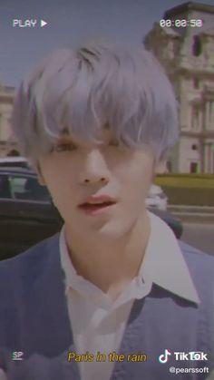 Taeyong nct ˢᵒⁿᵍ 𝐿𝑎𝑢𝑣- 𝑃𝑎𝑟𝑖𝑠 𝑖𝑛 𝑡ℎ𝑒 𝑟𝑎𝑖𝑛 Jaehyun, Shocked Face, A Love So Beautiful, Nct Life, Sad Wallpaper, Exo Memes, Nct Taeyong, Kpop, Aesthetic Videos