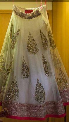 From Anushree Reddy's Winter-Festive 2013-14 Collection http://www.KalkiFashion.com/designers/anushree-reddy.html