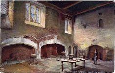 Hampton Court, the Great Kitchen.