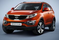 Kia Sportage  The SUV market in India is booming and new entrants are expected. To compete with the likes of the Skoda Yeti, Mahindra XUV 500, the Kia Sportage could be the perfect choice for India. The new Kia Sportage marks a dramatic shift in design direction for Kia's compact SUV. Longer, lower and wider than the previous generation model, the new Kia Sportage is immediately identifiable by its 'tiger' face - incorporating the signature grille design that links all new Kia models.