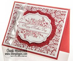 Stampin' Up! SU by Chiaki Haverstick, Stamps Ink Paper Create