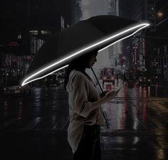 Umbrella Man, Folding Umbrella, Door Draught Stopper, Draft Stopper, Automatic Umbrella, Compact Umbrella, Led Light Design, Neck And Back Pain