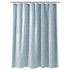 bath. Threshold™ Shower Curtain Fountain - Blue