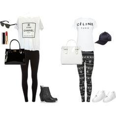 Celine & Chanel Tees