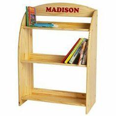 Little Colorado Kid's Bookcase Color: Sanded / Unfinished MDF Toddler Bookcase, Childrens Bookcase, Bookshelves Kids, Bookcases, Bookcase Shelves, Kitchen Bookcase, Kids Playroom Furniture, Play Kitchen Sets, Kid Desk