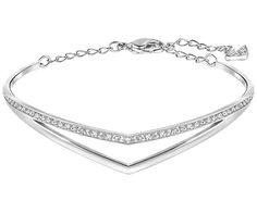 Sleek, chic, and very easy to wear. With an organic double V silhouette as the key design element, this bracelet reflects this season's trend for... Shop now