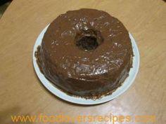 Moorish microwaved mocha cake