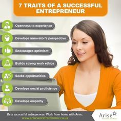 How many of these traits do you possess?  Join Arise and build your own home business! Visit link in bio for details.  #Arise #ariseworkfromhome #workingmom #workfromhome #telecommute #ukworkfromhome #unitedkingdom #toptags #uk #HomeBiz #HomeBasedBusiness #HomeBusiness #Mompreneur #StayAtHomeDad #WorkAtHome #WorkAtHomeMom #WorkFromHomeMom #WorkFromHomeDad #homebusinessopportunity #homebusinessowner #love #beyourownboss #laptoplifestyle #sahm #wahm #worklifebalance #tips #infographic…