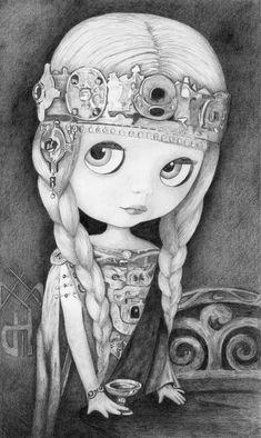 Blythe Isolde, Celtic Princess - by Thomas DePorter (Friend2Blythe)
