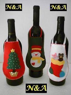 para as garrafas
