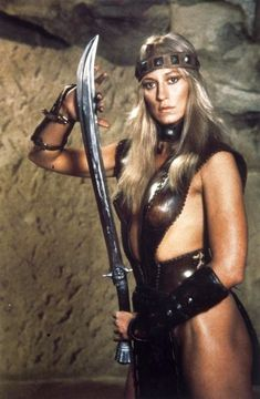 """Valeria """"Sandahl Bergman"""" Conan The Barbarian (1982) Valeria: All my life I've been alone. Many times I've faced death with no one to know. I would look into the huts and the tents of others in the coldest dark and I would see figures holding each other in the night. But I always passed by."""