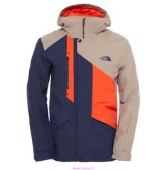 The North Face Mens Dubs Insulated Jacket - Cosmic Blue Brindle Country Casual, Men Casual, Mens Ski Wear, Outdoor Men, Mens Outdoor Jackets, Mode Costume, Men Design, Outdoor Outfit, Apparel Design
