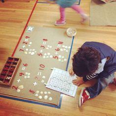 Montessori math exercises