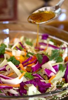 Spicy Coleslaw with
