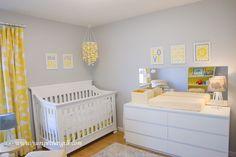 Project Nursery - Yellow and Gray Nursery