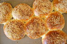Homemade Hamburger buns...Easy!