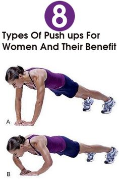 8 Types Of Push ups For Women And Their Benefits