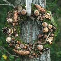 kurz Podzimní (o)kouzlení - přírodní věnec na dveře