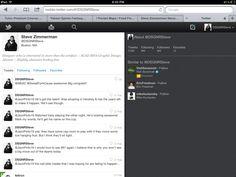 twitter mobile safari UI