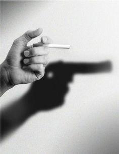 La cigarette qui tue