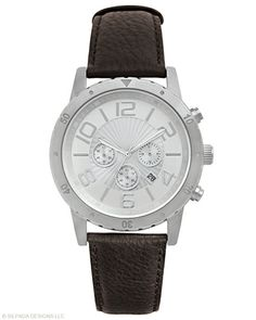 10% off Www.mysilpada.com/linda.schrawder..This go-to time piece is always in style. Double Deployment Butterfly Buckle. Leather, Stainless Steel.