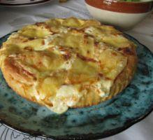 Recette - Tarte au maroilles Ch'ti - Notée 4/5 par les internautes