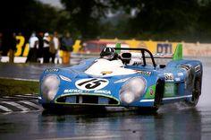 Graham & The Victorious Matra MS670. Le Mans 1972.
