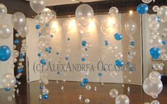 bubble strand ballons | Consist of 1 large balloon with smaller ones inside it and a collar ...