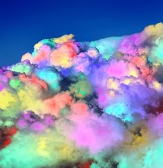 Cotton Candy Clouds II