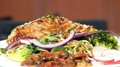 Zalm teriyaki met zelfgemaakte sambal - 24Kitchen
