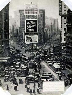 Times Square 1921