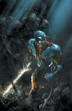 X-O MANOWAR #11 Cover art by Comic Artist Clayton Crain. This is some of, if not the best, art for this character.